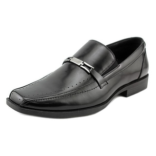 Stacy Adams CADE Men Square Toe Leather Black Loafer