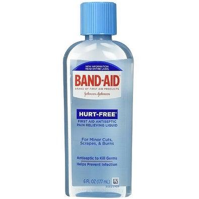 BAND-AID Hurt-Free Antiseptic Wash 6 oz
