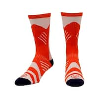 Ariat Socks Mens Mid Calf Performance Athletic L Red White
