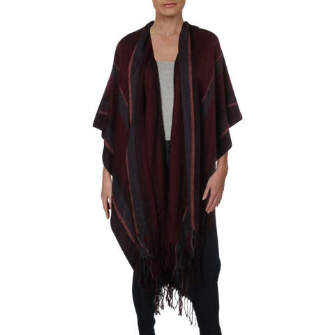 BCBGeneration Womens Kimono Striped Hi-Low - O/S