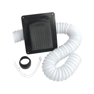 Air King RCB810 Vent Kit for Exhaust Fans with 8 feet of Duct and 3 inch to 4 inch Adapter