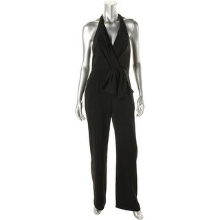 Cynthia Steffe Womens Sleeveless Solid Jumpsuit