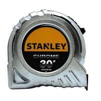 Stanley STHT30160W Tape Measure, Chrome, 30'