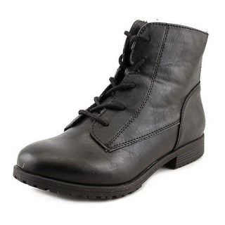 Style & Co Owinn   Round Toe Leather  Ankle Boot