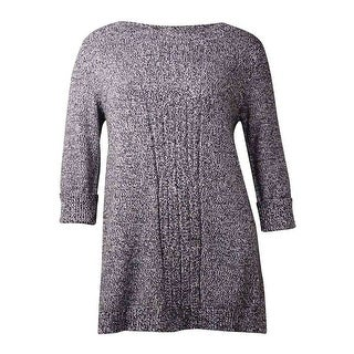 Style & Co. Women's Cable Knit Tunic Sweater