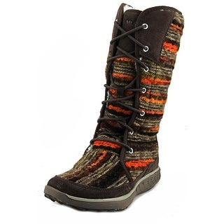 Merrell Pechora Sky Women Round Toe Canvas Multi Color Winter Boot