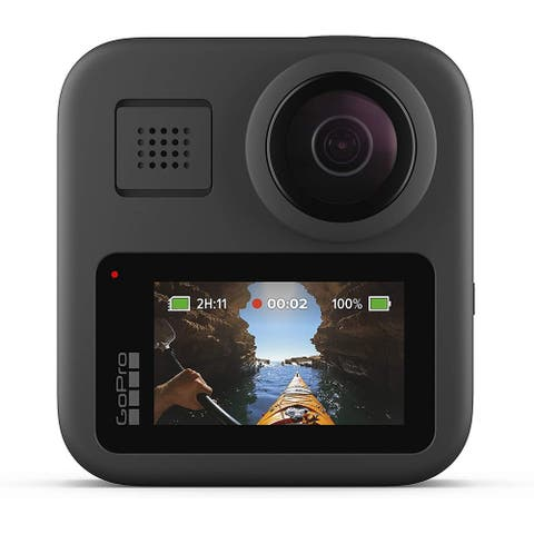 GoPro MAX Waterproof 360 Traditional Camera Touch Screen Spherical HD