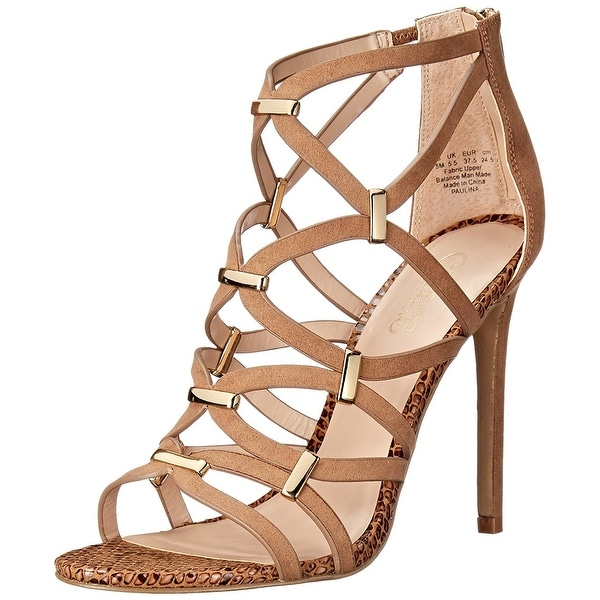 Carlos by Carlos Santana Womens Paulina Open Toe Special Occasion Ankle Strap...