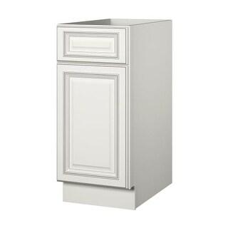 """Sunny Wood SLB15-A Sanibel 15"""" Single Door Base Cabinet"""