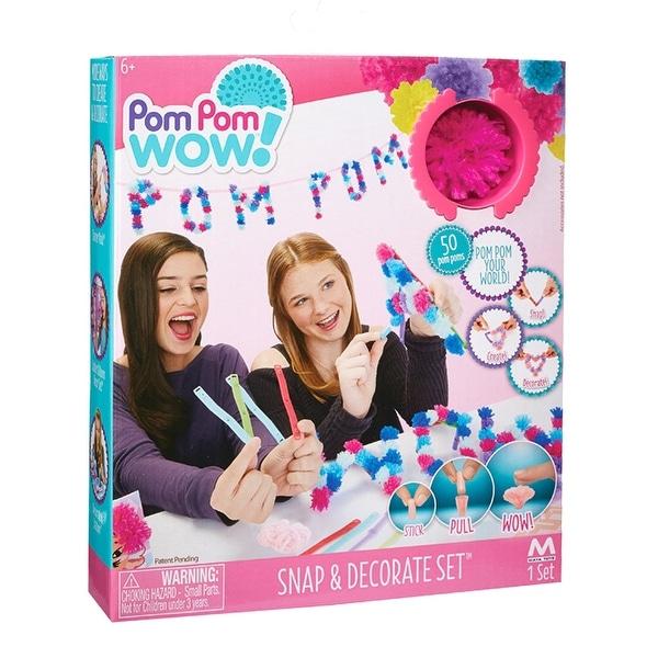 Pom Pom Wow! Snap & Decorate Set - multi