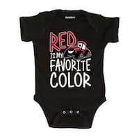 Red Is My Favorite Color-Case Ih Infant One Piece