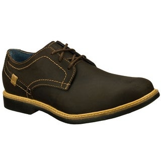 Skechers 68115 DKBR Men's MALLING Oxford