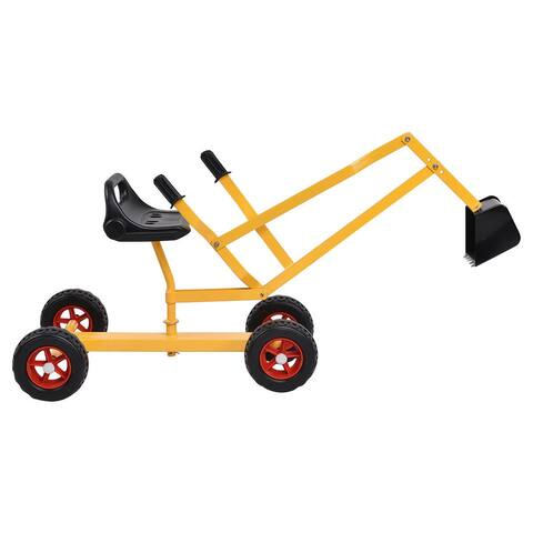 Heavy Duty Kid Ride-on 4-Wheel Excavator Sand Digger