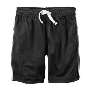 Carter's Baby Boys' Mesh Short, Black, 3 Months