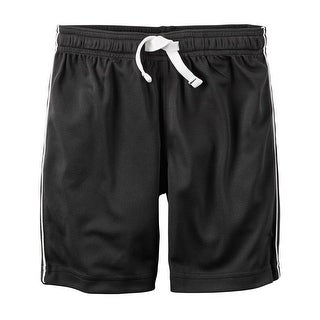 Carter's Baby Boys' Mesh Short, Black, 9 Months