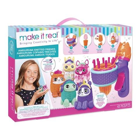 Gurumi Maker Knitted Friends - Purple - medium