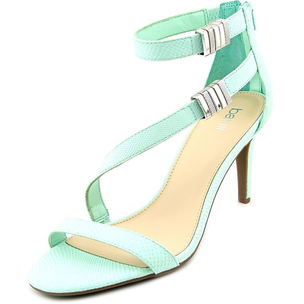 Bar III Hillary Women Open Toe Synthetic Green Sandals