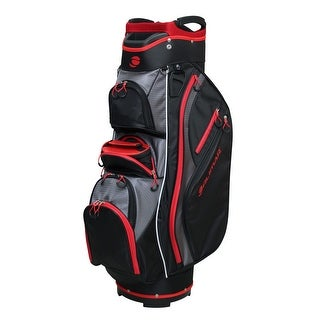 Link to Orlimar Golf CRX Cooler Cart Bag - Black/Red/Charcoal Similar Items in Golf Bags & Carts