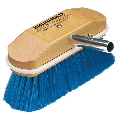 Shurhold window & hull brush extra soft blue nylon