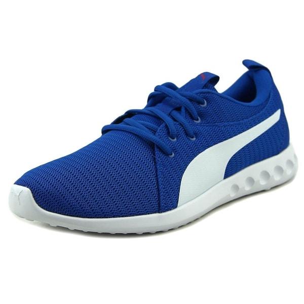 Puma Carson 2 Men Round Toe Canvas Blue Sneakers