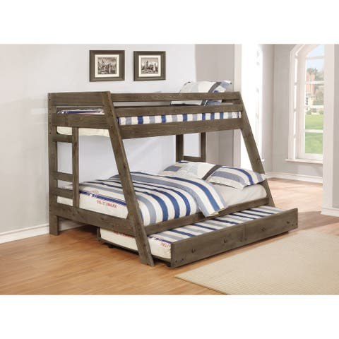 Vania Gunsmoke Twin/Full Bunk Bed