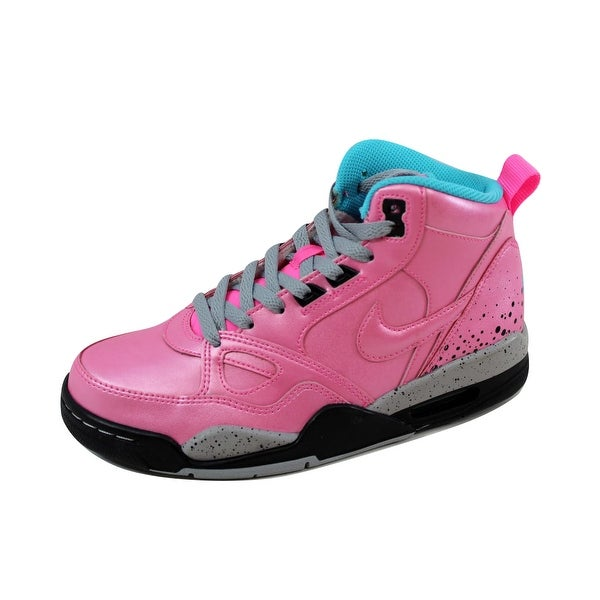 Nike Women's Flight 13 Mid Black/Sail-Gamma Blue-Laser Orange 616298-600 Size 6.5