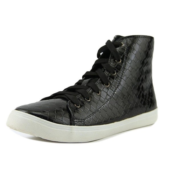 N.Y.L.A. Jillanna Women Round Toe Synthetic Black Sneakers