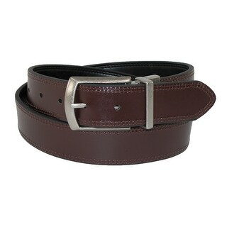 Dickies Men's Leather Reversible Jean Belt