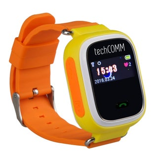 TechComm G900 Kids Smart Watch for T-Mobile ONLY with Fitness Tracker, GPS and Geofencing (Option: Yellow)