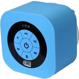 Adesso XTREAMS1L Adesso Xtream Xtream S1L Speaker System - Wireless Speaker(s) - Blue - 150 Hz - 20 kHz - 30 ft - Bluetooth -
