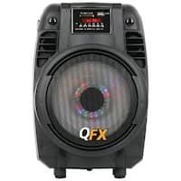 """QFX PBX-710700BTL 6.5"""" Portable Bluetooth(R) Party PA Speaker"""
