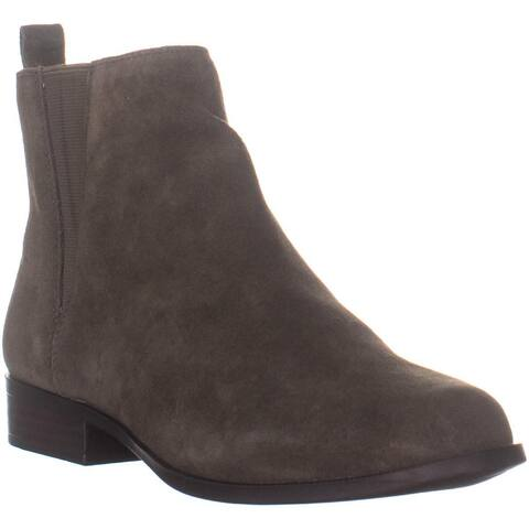 Bandolino Carnot Round Toe Ankle Boots, Dark Green/ Dark Green - 8 US