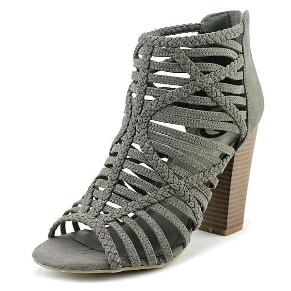 G By Guess Jelus Women Dark Gray Sandals