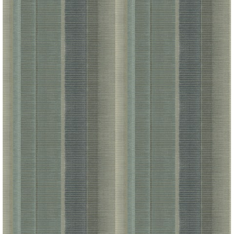 Potter Teal Flat Iron Wallpaper - 20.5in x 396in x 0.025in