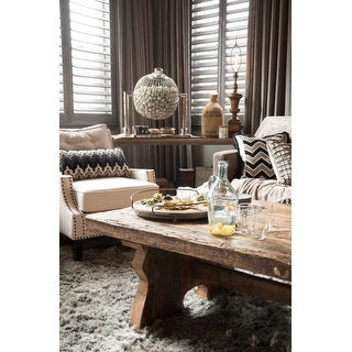 Baxton Studio Norwich Beige Linen Modern Lounge Chair