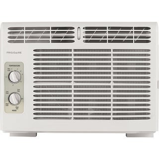 Frigidaire 5,000 BTU 115V Window-Mounted Mini-Compact Air Conditioner with Mechanical Controls