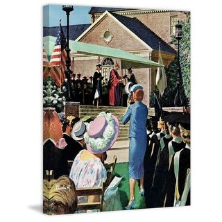 Marmont Hill College Graduation Thornton Utz Painting Print on Canvas