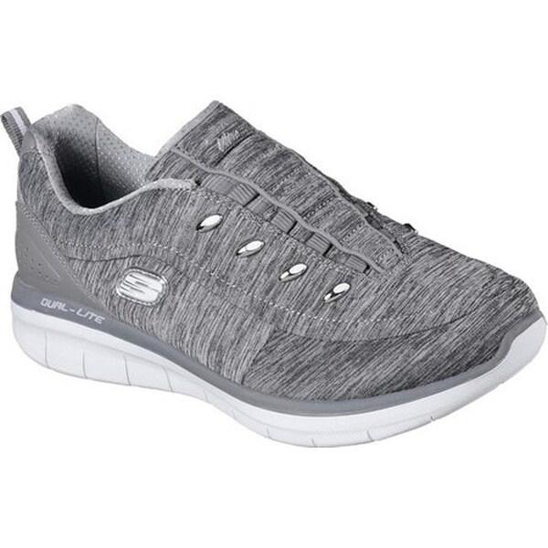 Skechers Women's Synergy 2.0 Scouted Sneaker Gray