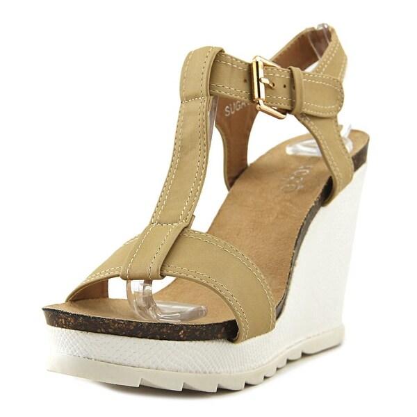 Bucco Capensis Sugair Women Open Toe Synthetic Wedge Sandal