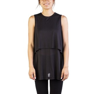 Miu Miu Women's Modal Tank Top Black - XS