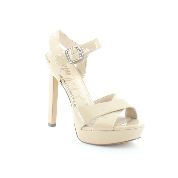 ff4135f8ee7d48 Shop Sam Edelman Willa Women s Sandals Nude - Free Shipping Today ...