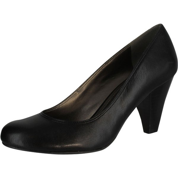 Kenneth Cole Reaction Women's Tears Go By Pump - Black Leather