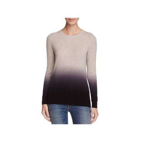 Private Label Womens Crewneck Sweater Cashmere Ombre
