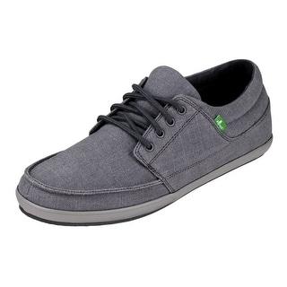 shop sanuk casual shoes mens tko canvas lace up rubber