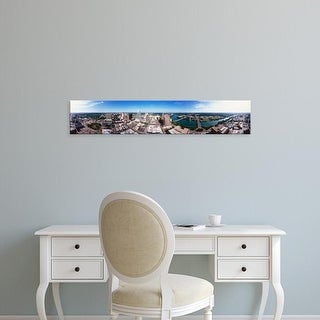 Easy Art Prints Panoramic Images's '360 degree view of a city, Austin, Travis county, Texas, USA' Premium Canvas Art