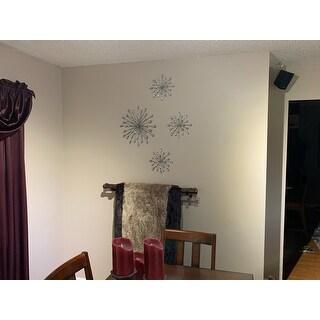 Carson Carrington Arden Silver Acrylic Wall Decor