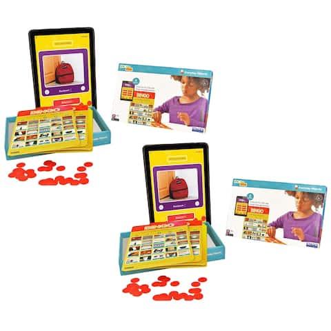 (2 Ea) Everyday Objects Bingo