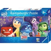 Inside Out Emotions Panoramic 200 Piece Puzzle, Assorted Disney by Ravensburger