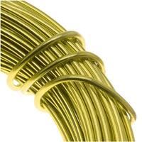 Aluminum Craft Wire Apple Green 18 Gauge 39 Feet (11.8 Meters)
