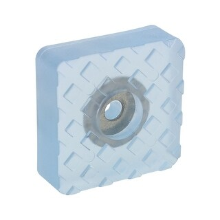 Shop 30x30mm Square Rubber Feet Insert Metal Washer